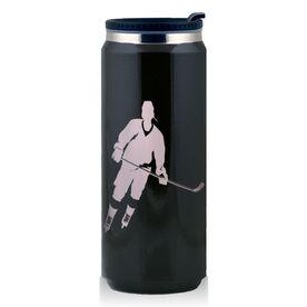 Stainless Steel Travel Mug Hockey Rink Turn