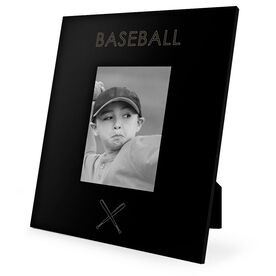 Baseball Engraved Picture Frame - Simple Baseball
