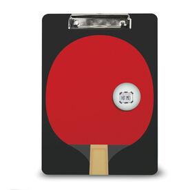 Ping Pong Custom Clipboard Ping Pong Your Logo