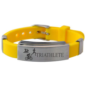 Triathlete Silicone Bracelet