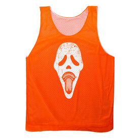 Guys Lacrosse Pinnie - Ghost Face