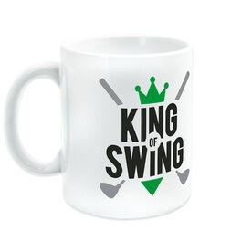 Golf Ceramic Mug King Of Swing
