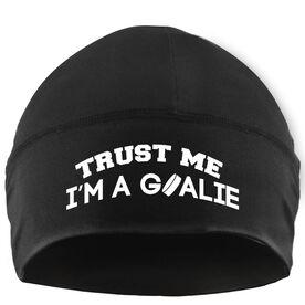 Beanie Performance Hat - Trust Me I'm a Hockey Goalie