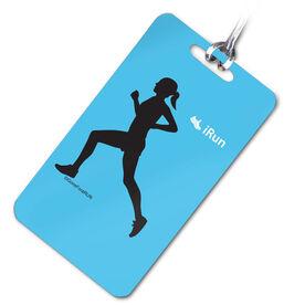 iRUN (F) Personalized Sport Bag/Luggage Tag