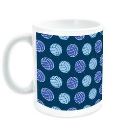 Volleyball Ceramic Mug Multi Color Ball Pattern