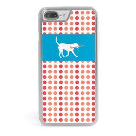 Field Hockey iPhone® Case - Dog Dots