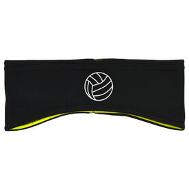 Volleyball Reversible Performance Headband Volleyball Ball