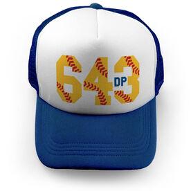 Softball Trucker Hat - 6-4-3 Double Play