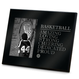 Basketball Photo Frame - Mother Words