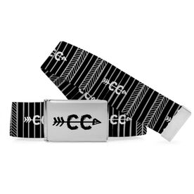 Cross Country Lifestyle Belt Cross Country CC Tribal Pattern
