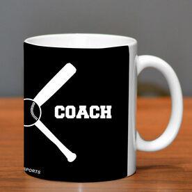 Baseball Ceramic Mug Coach