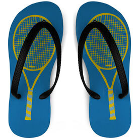 Tennis Flip Flops Racket