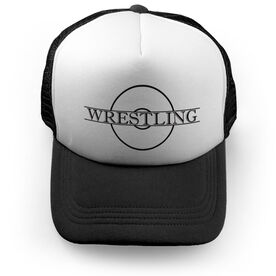 Wrestling Trucker Hat - Crest