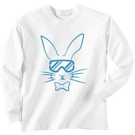 Skiing Long Sleeve T-Shirt - Hopster Ski Bunny
