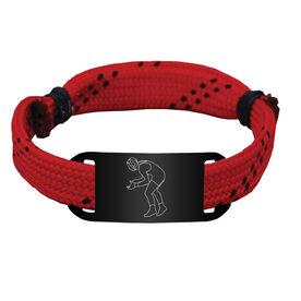 Wrestling Lace Bracelet Wrestler Adjustable Sport Lace Bracelet