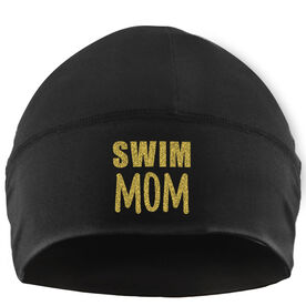 Beanie Performance Hat - Swim Mom
