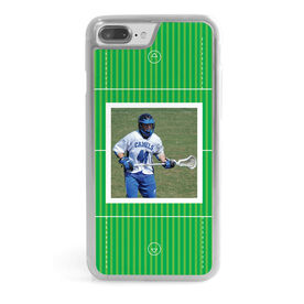 Guys Lacrosse iPhone® Case - Guys Field Your Photo
