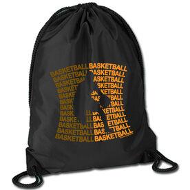 Basketball Sport Pack Cinch Sack All Basketball