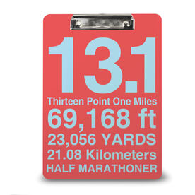 Running Custom Clipboard 13.1 Math Miles