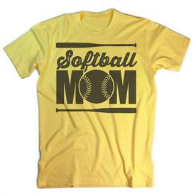 Vintage Softball T-Shirt - Softball Mom