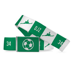 Soccer Lifestyle Belt Personalized Goalie