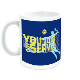 Volleyball Ceramic Mug You Just Got Served