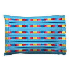 Swimming Pillowcase - Lanes