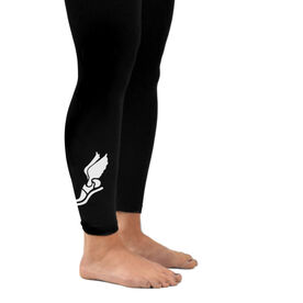 Track and Field Leggings Winged Shoe