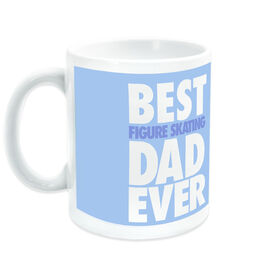 Figure Skating Ceramic Mug Best Dad Ever