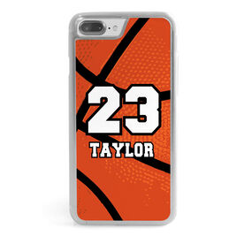 Basketball iPhone® Case - Personalized Big Number Basketball