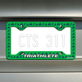 Triathlete TRI License Plate Holder