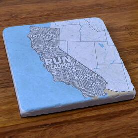 California State Runner Stone Coaster
