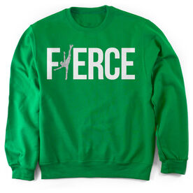 Figure Skating Crew Neck Sweatshirt - Fierce Figure Skater