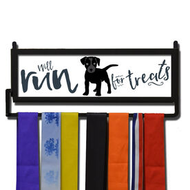 RunnersWALL Will Run For Treats Medal Display