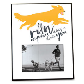 Running Personalized Photo Frame - I'll Run Anywhere As Long As It's With You