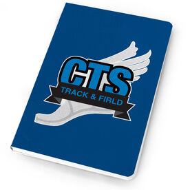 Track & Field Notebook Custom Team Logo