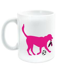 Soccer Ceramic Mug Sasha Soccer The Dog