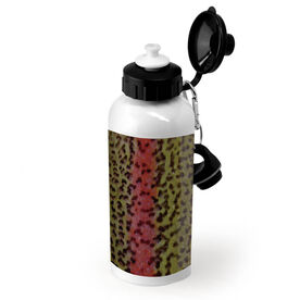 Fly Fishing 20 oz. Stainless Steel Bottle Rainbow Trout