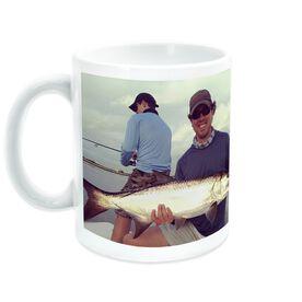 Fly Fishing Ceramic Mug Custom Photo