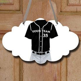 Baseball Cloud Sign Personalized Jersey