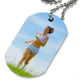 Custom Photo Printed Dog Tag Necklaces