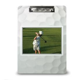 Golf Custom Clipboard Golf Your Photo