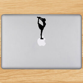Figure Skater Removable ChalkTalkGraphix Laptop Decal