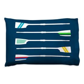 Crew Pillowcase - Oar Pattern
