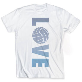 Vintage Volleyball T-Shirt - Love
