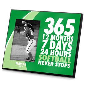 Softball Photo Frame Softball 365