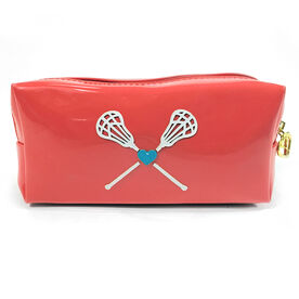 Lacrosse My Heart Lacrosse Cosmetic Bag - Lexi