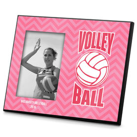 Volleyball Photo Frame Volleyball Chevron