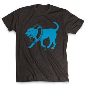 Swimming Tshirt Short Sleeve Finn The Swim Dog