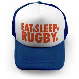 Rugby Trucker Hat - Eat Sleep Rugby